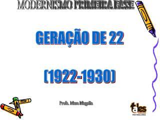 GERA  O DE 22  1922-1930