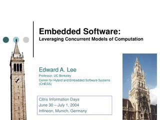 Embedded Software: Leveraging Concurrent Models of Computation