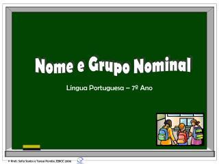 L ngua Portuguesa   7  Ano