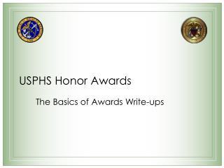USPHS Honor Awards