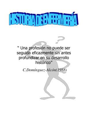 HISTORIA DE ENFERMER A