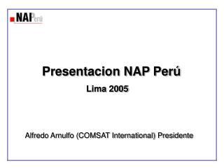 Presentacion NAP Per
