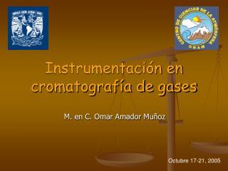Instrumentaci n en  cromatograf a de gases