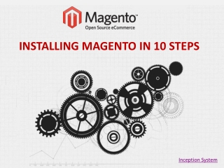 Magento Web Development - Install Magento in 10 Steps
