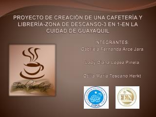PROYECTO DE CREACI N DE UNA CAFETER A Y LIBRER A-ZONA DE DESCANSO-3 EN 1-EN LA CUIDAD DE GUAYAQUIL