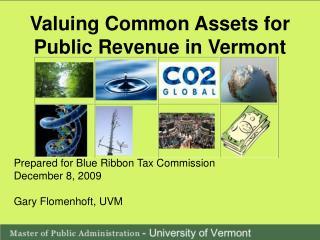 Valuing Common Assets for Public Revenue in Vermont