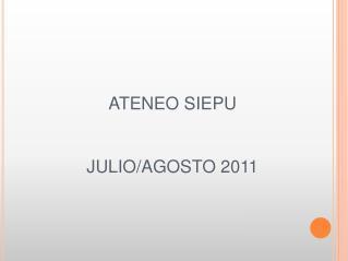 ATENEO SIEPU   JULIO