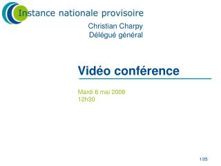 Vid o conf rence
