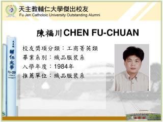 CHEN FU-CHUAN