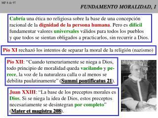 FUNDAMENTO MORALIDAD, 1