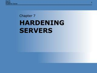 Chapter 7 - PowerPoint