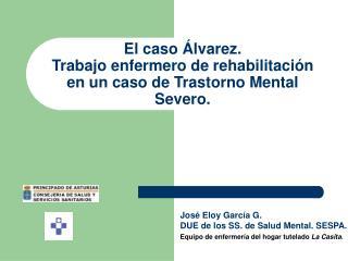 El caso  lvarez.  Trabajo enfermero de rehabilitaci n en un caso de Trastorno Mental Severo.