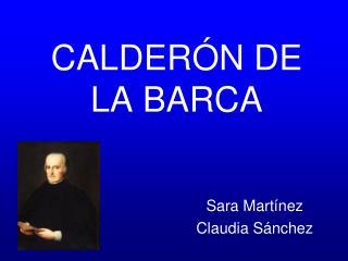 CALDER N DE LA BARCA