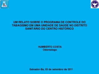 UM RELATO SOBRE O PROGRAMA DE CONTROLE DO TABAGISMO EM UMA UNIDADE DE SA DE NO DISTRITO SANIT RIO DO CENTRO HIST RICO