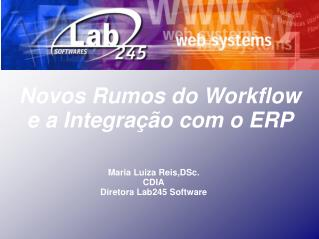 Novos Rumos do Workflow  e a Integra  o com o ERP