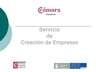 Servicio  de Creaci n de Empresas
