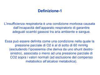 Insufficienza Respiratoria Definizione-1