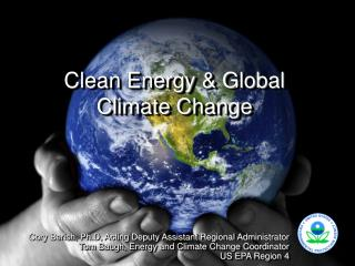 Clean Energy  Global Climate Change