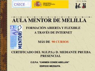 AULA MENTOR DE MELILLA