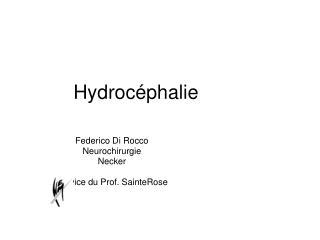 Hydroc phalie