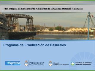 Programa de Erradicaci n de Basurales y Recuperaci n de sitios contaminados   Logo presidencia