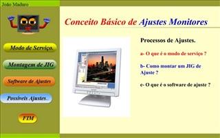Conceito B sico de Ajustes Monitores