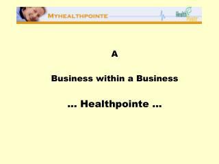 Australia - Promotions - HealthPointe - Harris Diamond Group - May ...