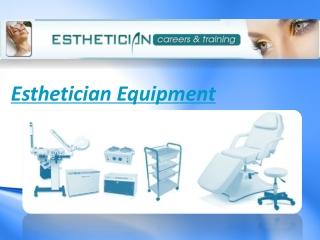 Esthetician Equipment