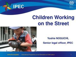 Children Working on the Street