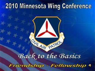 2010 Minnesota Wing Conference