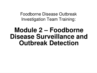 Investigating Noroviruses:  A Case Study