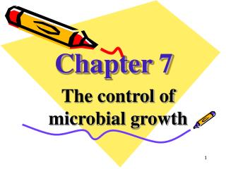 The control of microbial growth