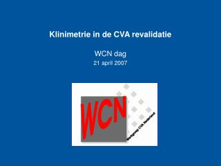 Klinimetrie in de CVA revalidatie