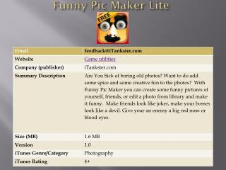 Funny Pic Maker Lite