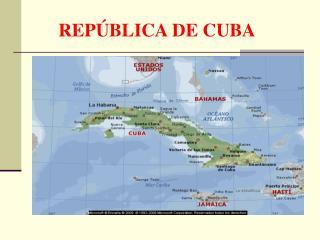 REP BLICA DE CUBA