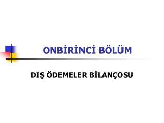 ONBIRINCI B L M