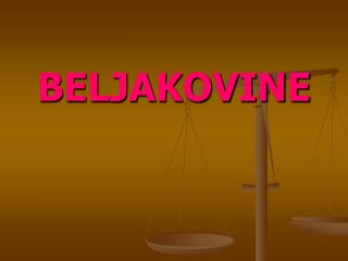 BELJAKOVINE
