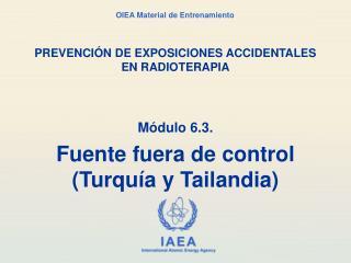 PREVENCI N DE EXPOSICIONES ACCIDENTALES EN RADIOTERAPIA