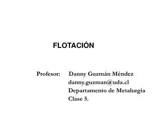 FLOTACI N