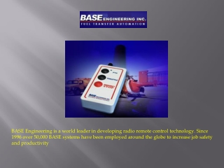 Advancement in the Field of Radio Remote Control Technology