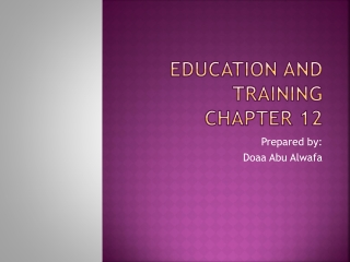 Chapter 4 Training and Orientation