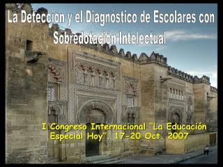 La Detecci n y el Diagn stico de Escolares con Sobredotaci n Intelectual
