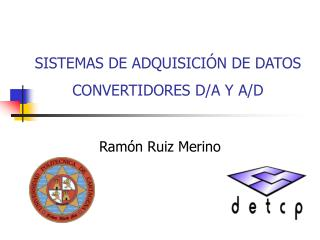 SISTEMAS DE ADQUISICI N DE DATOS CONVERTIDORES D