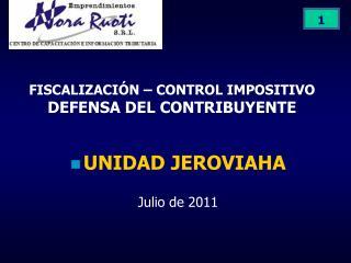 FISCALIZACI N   CONTROL IMPOSITIVO DEFENSA DEL CONTRIBUYENTE
