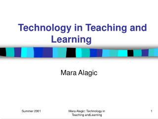 Technology in Teaching and Learning