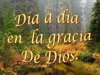 D a a d a  en  la gracia De Dios.