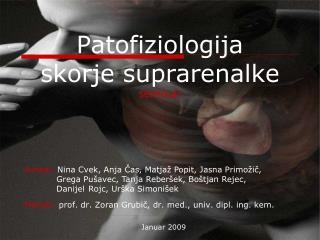 Patofiziologija  skorje suprarenalke seminar