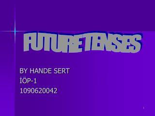 BY HANDE SERT I P-1 1090620042