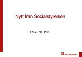 Nytt fr n Socialstyrelsen