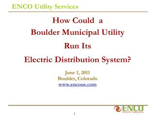 ENCO Utility Services